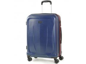 Cestovní kufr ROCK TR-0165/3-M ABS - modrá  + PowerBanka nebo pouzdro zdarma