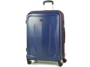 Cestovní kufr ROCK TR-0165/3-L ABS - modrá  + PowerBanka nebo pouzdro zdarma
