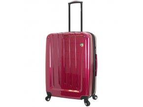 Cestovní kufr MIA TORO M1321/3-L - vínová  + PowerBanka nebo pouzdro zdarma