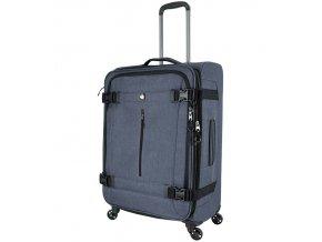 Cestovní kufr MIA TORO M1135/3-M - šedá  + PowerBanka nebo pouzdro zdarma