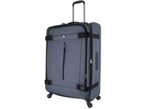 Cestovní kufr MIA TORO M1135/3-L - šedá  + PowerBanka nebo pouzdro zdarma