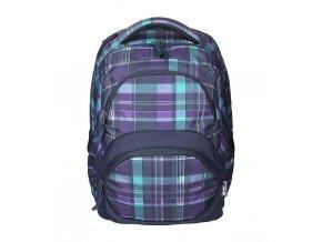 Studentský batoh SPIRIT FREEDOM 01 fialová  + Pouzdro zdarma