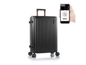 Heys Smart Luggage Airline Aproved M Black  + PowerBanka nebo pouzdro zdarma