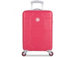 Kabinové zavazadlo SUITSUIT® TR-1247/3-S ABS Caretta Teaberry  + Pouzdro zdarma