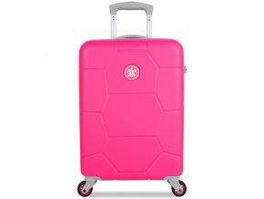 Kabinové zavazadlo SUITSUIT® TR-1248/3-S ABS Caretta Hot Pink  + Pouzdro zdarma