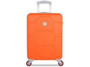 Kabinové zavazadlo SUITSUIT® TR-1249/3-S ABS Caretta Vibrant Orange  + Pouzdro zdarma