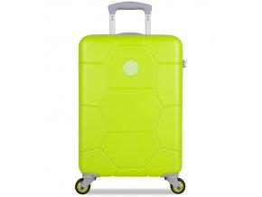 Kabinové zavazadlo SUITSUIT® TR-1252/3-S ABS Caretta Sparkling Yellow  + Pouzdro zdarma
