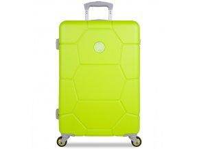 Cestovní kufr SUITSUIT® TR-1252/3-M ABS Caretta Sparkling Yellow  + PowerBanka nebo pouzdro zdarma