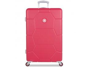 Cestovní kufr SUITSUIT® TR-1247/3-L ABS Caretta Teaberry  + PowerBanka nebo pouzdro zdarma