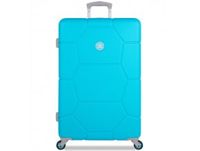 Cestovní kufr SUITSUIT® TR-1250/3-L ABS Caretta Peppy Blue  + PowerBanka nebo pouzdro zdarma