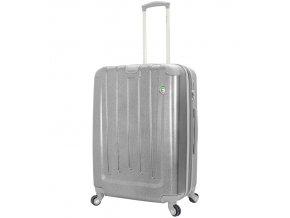 Cestovní kufr MIA TORO M1324/3-L - stříbrná  + PowerBanka nebo pouzdro zdarma