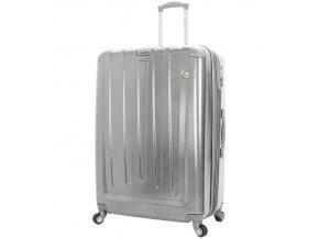 Cestovní kufr MIA TORO M1324/3-XL - stříbrná  + PowerBanka nebo pouzdro zdarma