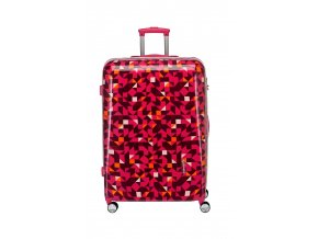 Travelite Campus Hardshell M Quadro pink