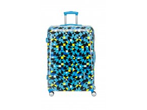 Travelite Campus Hardshell M Quadro blue