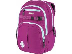 NITRO batoh CHASE grateful pink