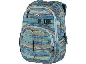 NITRO batoh CHASE frequency blue