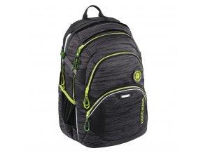 Školní batoh Coocazoo JobJobber2, Black Knit  + PowerBanka nebo pouzdro zdarma