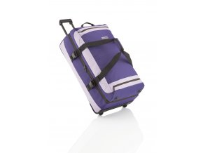 Travelite Basics Doubledecker on wheels Deep Purple/Light Purple  + PowerBanka nebo pouzdro zdarma