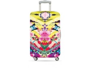 LOQI Cover M SHINPEI NAITO Flower Dream Luggage