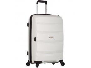 Cestovní kufr SIROCCO T-1208/3-M PP - bílá  + PowerBanka nebo pouzdro zdarma