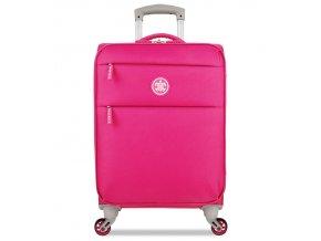 Kabinové zavazadlo SUITSUIT® TR-12572/1-S Caretta Soft Hot Pink  + Pouzdro zdarma