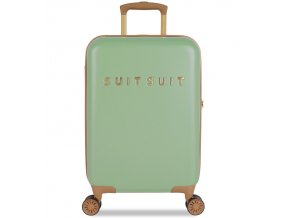 Kabinové zavazadlo SUITSUIT® TR-7103/3-S - Fab Seventies Basil Green  + PowerBanka nebo pouzdro zdarma