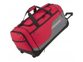 Travelite Kick-Off XL 2w Red  + Pouzdro zdarma