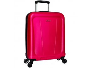 Kabinové zavazadlo SIROCCO T-1213/1-S ABS - růžová  + Pouzdro zdarma