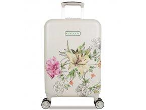 Kabinové zavazadlo SUITSUIT® TR-5101/3-S - 10th Anniversary English Garden  + PowerBanka nebo pouzdro zdarma