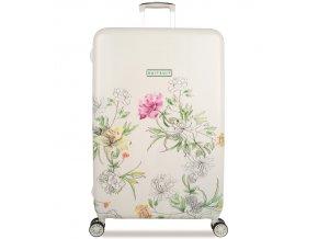 Cestovní kufr SUITSUIT® TR-5101/3-L - 10th Anniversary English Garden  + PowerBanka nebo pouzdro zdarma