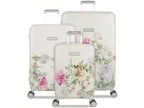 Sada cestovních kufrů SUITSUIT® TR-5101/3 - 10th Anniversary English Garden  + PowerBanka nebo pouzdro zdarma