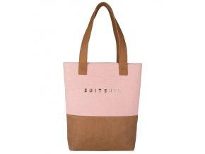 Dámská taška SUITSUIT® BS-71079 Coral Cloud  + Pouzdro zdarma