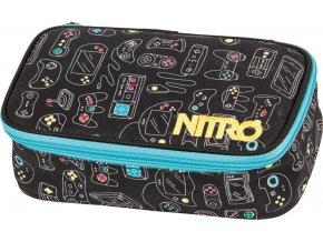 NITRO penál PENCIL CASE XL gaming