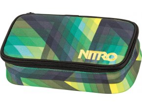 NITRO penál PENCIL CASE XL geo green