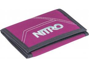 NITRO peněženka WALLET grateful pink