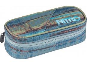 NITRO penál PENCIL CASE frequency blue