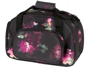 NITRO taška DUFFLE BAG XS black rose