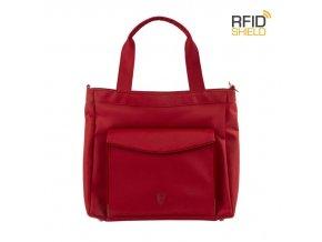 Heys HiLite RFID Laptop Tablet Tote Red  + Pouzdro zdarma