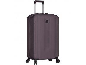 Kabinové zavazadlo SIROCCO T-1177/3-S ABS - šedá  + PowerBanka nebo pouzdro zdarma