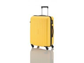 Travelite Uptown 4w S,M,L  Yellow – sada 3 kufrů   + PowerBanka nebo pouzdro zdarma