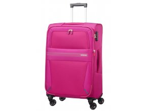 American Tourister SUMMER VOYAGER  SPINNER 68 EXP M - DEEP PINK