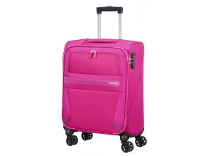 American Tourister SUMMER VOYAGER  SPINNER 55 S - DEEP PINK