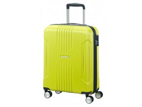 American Tourister TRACKLITE  SPINNER 55 S - SUNNY LIME