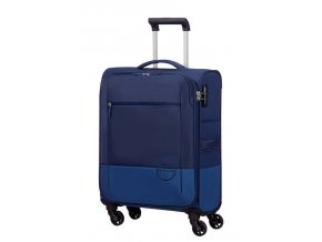 American Tourister INSTAGO  SPINNER 55 S - NAVY/BRIGHT BLUE