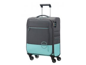 American Tourister INSTAGO  SPINNER 55 S - GREY/AQUA