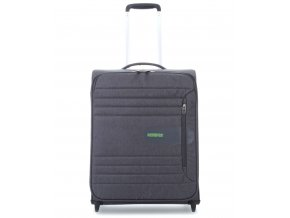 American Tourister SONICSURFER  UPRIGHT 55 S - DARK SHADOW