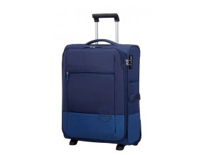 American Tourister INSTAGO  UPRIGHT 55 S - NAVY/BRIGHT BLUE