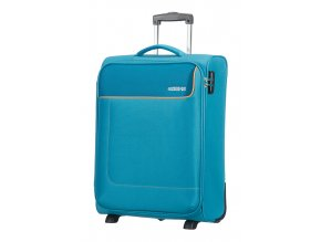 American Tourister FUNSHINE  UPRIGHT 55 S - BLUE OCEAN