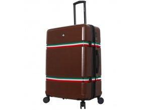 Cestovní kufr MIA TORO M1543/3-L - hnědá  + PowerBanka nebo pouzdro zdarma