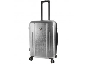 Cestovní kufr MIA TORO M1239/3-M - stříbrná  + PowerBanka nebo pouzdro zdarma